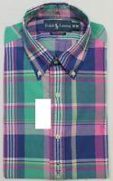 Polo Ralph Lauren Men's Cotton LS Casual / Smart Shirts RRP £90 BN 100% Genuine