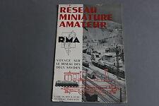 X544 RMA Paris 1953 Train voyage sur le reseau des deux savoies 12 pg Annecy Lac