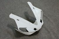 ABS Unpainted White Upper fairing Cowl Front nose For YAMAHA YZF R1 2000 2001
