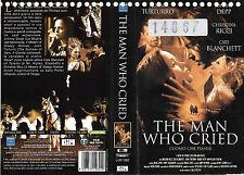 THE MAN WHO CRIED (2000)  vhs ex noleggio
