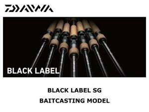 Daiwa Black Label SG Baitcasting Model 721H+FB casting rod ship from Japan