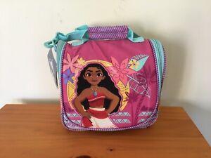 New Disney Store Moana Lunch Tote Box School Bag