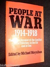 People at War: 1914-18 by David & Charles (Hardback, 1973-1st) WWI/Great War