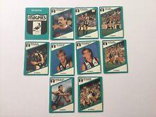 1988 Scanlens COLLINGWOOD Team Set (10 Cards)