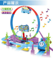 Thomas electric track roller coaster with music lights