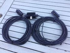 Doble bazooka antena para banda de 40 metros (7.0 - 7.200 MHz). ancho Bandas