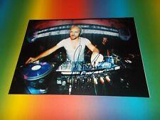 Off Sven Väth Electrica Salsa DJ signed autograph Autogramm 8x11 photo in person