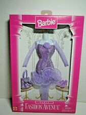 Mattel Barbie 1996 Fashion Avenue Party Collection Formal Dress Gift Set NRFB