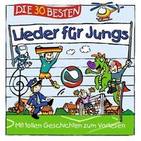 DIE 30 BESTEN LIEDER FÜR JUNGS - Neu & cellophaniert!