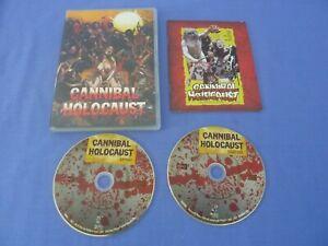 Cannibal Holocaust Blu-Ray 2-Disc + Booklet Robert Kerman Carl Yorke Free Track