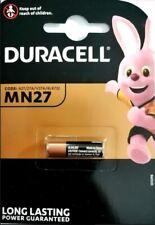 MN27 DURACELL Batteria Pila a 12V Pile Per Telecomandi Auto Cancelli A27/27A/V27