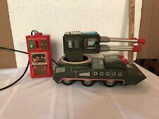 vintage battery operated toy pom pom tank