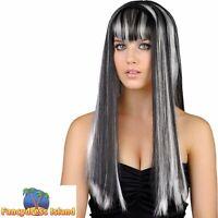 Halloween Horror Spooky Gorgeous Wig Womens Ladies Fancy Dress Costume Accessory