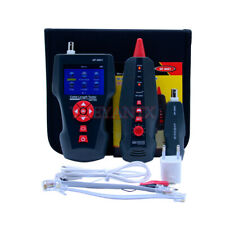 Multi-functional Network Cable Tester LCD Cable length Tester Breakpoint Tester