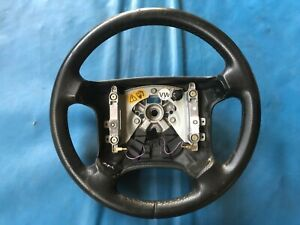 Rover 800 Black Leather Steering Wheel (Part #: QTB101240LNF)