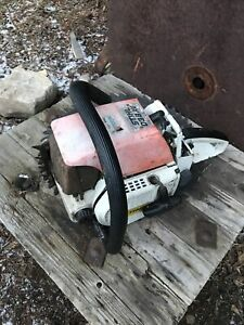 Stihl 038 AV chainsaw powerhead Parts Or Repairs Loggers Tool