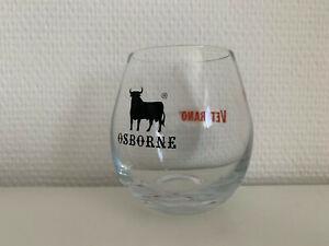 Osborne Veterano Brandy Glas neu mit Stier
