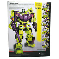 Devastator 6in1 IDW Transformer Decepticon Action Figure Engineering Truck Robot