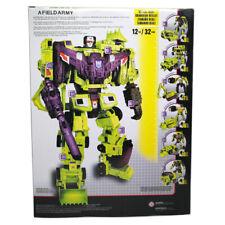 Devastator 6in1 IDW Transformer Decepticon Action Figure Engineering Truck Robot