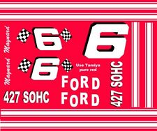 #6 MAYNARD TROYER FORD 1/25th - 1/24th Scale  WATERSLIDE DECAL