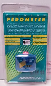 Sportline 360 Fitness Pedometer, New Factory Sealed.