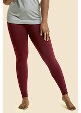 SOFRA PLUS SIZE FLEECE LINED LEGGINGS-FREE SIZE FITS 1X-2X-warm !!! 5 colors