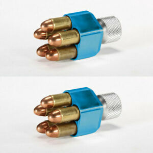 (2 PACK) Pachmayr Competition Speedloaders; .357/.38 or .44, optional case