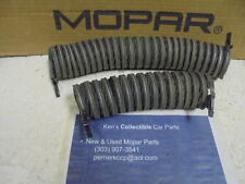 1966 Plymouth Fury Heater Vent Hoses Dodge Plymouth