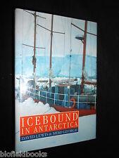 Ice Bound in Antarctica by David Lewis, Mimi George 1987-1st, Polar Exploration