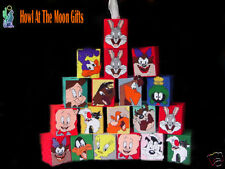 Looney Tunes Needlepoint Tissue Box Covers -Handcrafted