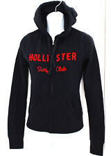 NWT  HOLLISTER SURF CLUB NAVY HOODIE JACKET IN WOMENS SIZE XS