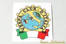 "Dekor Aufkleber ""Vespa Club d'Italia"" - Italy Italien V50 PK PX GL Sticker Klub"