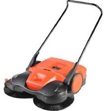 """NEW! Haaga® 38"""" Battery powered Triple Brush Push Power Sweeper!!"""