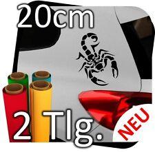 2x 20cm Auto Autoaufkleber Skorpion Sternzeichen Tribal Tuning Scorpion Nr.3