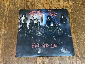 Motley Crue LP - Girls Girls Girls - Elektra / Columbia House E1-60725 1987