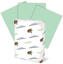 Hammermill Colored Paper, 20 Lb Green Printer Paper, 8.5 X 11-1 Ream (500 Sheets