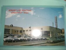 Car dealership Robert Lee Pontiac 1960s Philadelphia auto dealer postcard