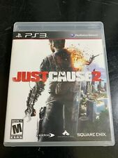 Just Cause 2 - PS3 - Perfect, Tested Disc, Case, Manual