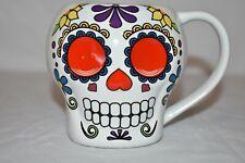 Sugar Skull Day of the Dead Coffee Mug 16oz  Home Essential