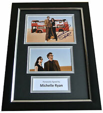 Michelle Ryan Signed A4 FRAMED Photo Autograph Display Doctor Who Actress TV COA