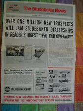 Studebaker News dealer paper October 1962 features 1963 Models including Avanti