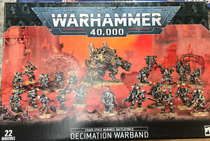 Chaos Space Marines: Battleforce – Decimation Warband Warhammer 40k 40,000 New!