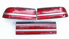 1990-1991 Mitsubishi Eclipse Tail Lights & Center Garnish GST GSX 1G DSM 4g63