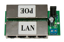 4-Channel Power-over-Ethernet Midspan Injector (Double Sided) POE Injector Board