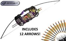 Barnett Sportflight Adult Archery Kit 25lb Draw Recurve Bow - With 12 Arrows