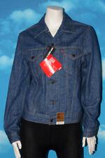 Levis Red Tab Slim Fit Trucker Blue Jean Denim Jacket Medium New with Tags