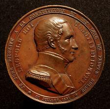 Belgio, Leopold I., grande medaglia bronzo sulla monarchia costituzionale, R!