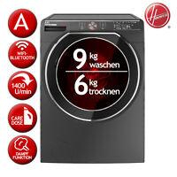 Waschtrockner Waschen 9kg / Trocknen 6kg EEK:A HOOVER AWDPD 496LHR/1-S Caredose