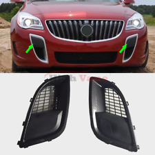 Front Bumper Fog Lamp Carbon Fiber Light Cover Fit For Buick Regal/GS 2009-2015