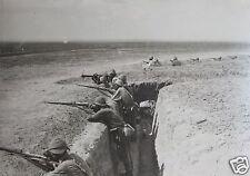 "Turkish Ottoman Soldiers in Palestine Israel World War 1, 5.5x4"" Reprint Photo1"